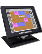 Perfect fitting High-Tech screen protection for cash register systems.